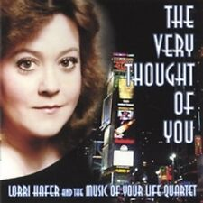 The Very Thought Of You Lorri Hafer CD (NEW and SEALED)