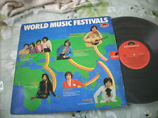 a941981 Leslie Cheung Alan Tam Sam Hui Paul Cheong Peter Chan Patricia Pat Chan World Music Festivals LP