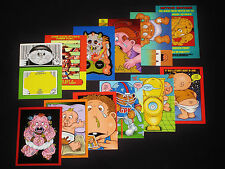 GARBAGE PAIL KIDS - 2007 All New Series 6 - Complete Activity Set -12 Cards ANS6