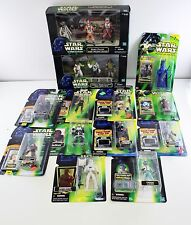 Lot Of 13 Star Wars Action Figures Bundle Power Of The Force Power Of The Jedi