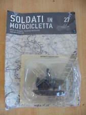 SOLDATI IN MOTOCICLETTA 27 CORPS DE CAVALERIE SQUADRONE MOTOCICLISTI SIDECAR FN