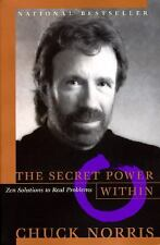 The Secret Power Within by Chuck Norris (1997, Paperback)