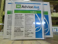 "4- 30cc tubes of  ADVION Ant Gel w/Plunger & Tips ""New and Fresh"""
