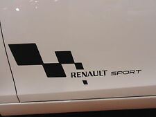 FOR RENAULT DOOR VINYL BLACK DECALS STICKER, CUSTOM,MEGANE,TWINGO,CLIO,SPORT,