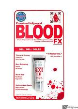 Tinsley Transfers Premium Hollywood Thick Drying Gel Fake Blood FX Dark Red .23o