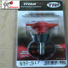 TITAN TR2 AIRLESS SPRAY GUN TIP 517 /213 TWO TIPS IN ONE FOR ALL GUNS