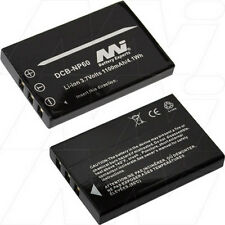 3.7V 1.1Ah Replacement Battery Compatible with Casio NP-30