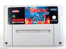 SUPER TURRICAN 2  (Modul)  °Super Nintendo SNES Spiel°