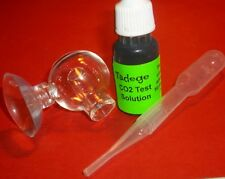 Carbon Dioxide CO2 Glass Drop Checker Ball With Indicator. USA Fast Shipping.