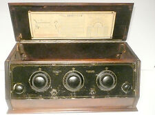 "vintage * TRINITY ""6"" BATTERY RADIO: UNTESTED CHASSIS / no tubes"