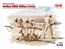 INDIAN SIKH RIFLES 1942  (BRITISH INFANTRY - NORTH AFRICA) 1/35 ICM BRAND NEW