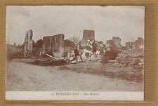 Cpa Meuse Rembercourt - rue Ramée tp0617