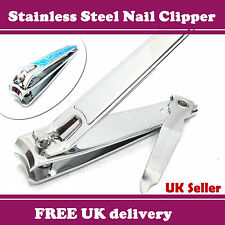 Finger Toe Nail Clipper Cutter Nippers Chiropody Heavy Duty Thick Nails Manicure