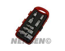 """Adaptateur socket universel mixte à cliquet clé à molette réducteur Convertisseur 1/4 """" 3/8"""" 1/2 """""""