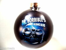 DR. HORRIBLE'S SING-ALONG BLOG CHRISTMAS TREE ORNAMENT, NEW OLD STOCK