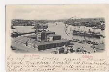 Sweden, Goteborg, Parti af Hamnen 1902 Postcard, B147