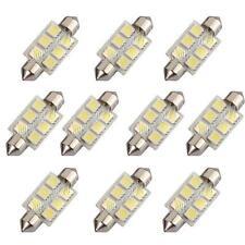 10x C5W 36MM 6 LED 5050 SMD Navette Blanc Feston Ampoule Spot Plaque Plafonnier