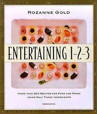 Entertaining 1-2-3 : More than 300 Recipes for Food and Drink Using On-ExLibrary