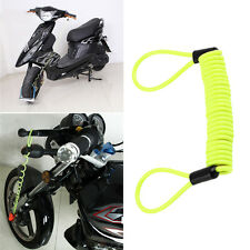 150cm Security Bike Scooter Motorcycle Motorbike Disc Lock Reminder Cable XC