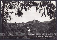 CUNEO MONTALDO DI MONDOVÌ 02 Cartolina FOTOGRAFICA viaggiata 1957
