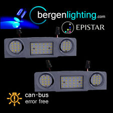 FOR VW TIGUAN TOURAN SHARAN 48 BLUE LED FRONT INTERIOR ROOF COURTESY LAMP