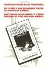 The Turner Diaries by Andrew MacDonald (1978, Paperback, Reprint)