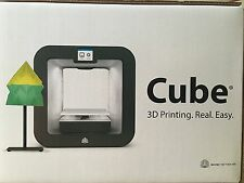 BRAND NEW! 3D Systems Cube 3D Printer Wireless 3rd Generation Grey, -- USA