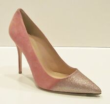 J Crew Collection Roxie Glitter Suede Pumps - size 8 Shoes