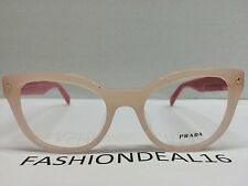 Prada Women's Authentic Pink VPR21V-F UEW-1O1 Optical Eyeglasses
