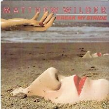 "Matthew Wilder - Break My Stride *7"" Single*RAR*"