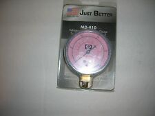 Low Side Manifold Pressure Temperature Guage-410A-JB-30 to 500 PSI-Blue-New-USA