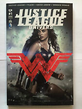 URBAN COMICS DC JUSTICE LEAGUE UNIVERS N° 1 MARS 2016 VARIANT GAL GADOT SOLD OUT