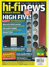 HI-FINEWS & RECORD REVIEW, THE HOME OF REAL HI-FI    OCTOBER, 2014 ( HIGH FIVE )