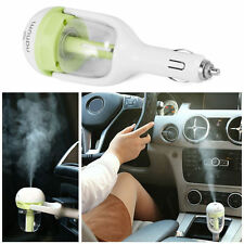 Green Car Air Humidifier and Aromatherapy Essential Oil Diffuser Car Charger