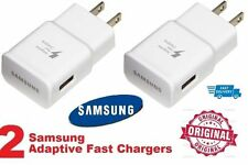 2 Authentic Original OEM Samsung Galaxy Note Adaptive Fast Rapid Wall Charger