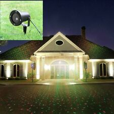 RG Waterproof Outdoor Landscape Garden Romate Laser Xmas Stage Light UK Plug
