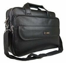 New High Quality Faux Leather Executive Business Pilot Briefcase Laptop Work Bag