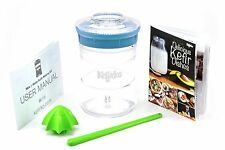 KEFIRKO - Kefir Fermenter Kit - Make Milk/Water Kefir at Home - Light Blue