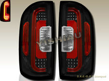 15-16 Chevy Colorado/GMC Canyon Pickup 4 Door Light Black LED Tail Lights