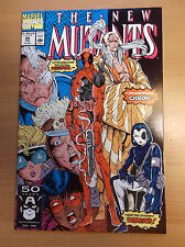 MARVEL: NEW MUTANTS #98, 1ST DEADPOOL, SUPER KEY, VERY HOT, HIT MOVIE, 1991, NM!