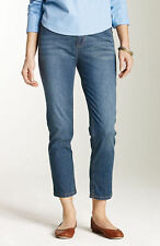 J JILL Women's 'TRIED & TRUE - 719844' Seaside Wash CROPPED JEANS - 4 (Petite)