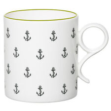 Gary Birks Bone China Round Handle Mug Anchors Away, Nautical