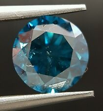 1.36 Carat Fancy Blue Color Enhanced Diamond Loose Huge Gorgeous For Ring ASAAR
