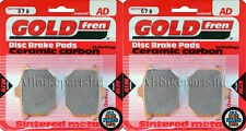 Honda CX 500 Front Sintered Brake Pads 1978-1980 - Goldfren - CX500 CX-500