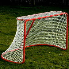 "Hockey Goal & Net, 72"" Pro-Style Rounded Back, Heavy-Duty Steel Goal, Complete!"