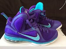 "NIKE LEBRON 9 - ""SUMMIT LAKE HORNETS"" - SIZE 11.5-  QUICKSTRIKE - 469764-500"