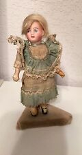 """5"""" BISQUE SOCKET HEAD MIGNONETTE DOLL MARKED 13a"""