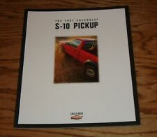 Original 1997 Chevrolet Truck S-10 Pickup Sales Brochure 97 Chevy