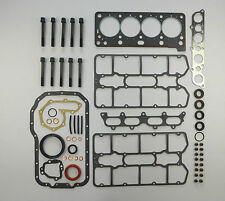 FULL ENGINE HEAD SUMP BOTTOM GASKET SET & BOLTS RENAULT CLIO  R19 1.8 16V  F7P