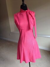 Vintage Pink Scooter Sheath Style Dress 1970